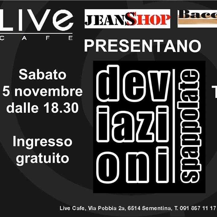 Deviazioni Spappolate (Tributo-Ufficiale Vasco Rossi) Tour Dates
