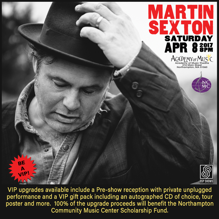 Martin Sexton @ Academy of Music - Northampton, MA