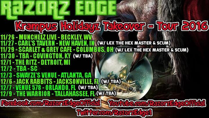 RAZORZ EDGE @ Swayze's Venue - Marietta, GA