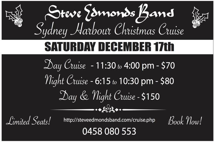Steve Edmonds Band @ Rhythmboat Cruises - Sydney, Australia