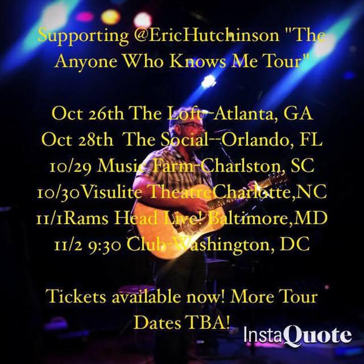 Matt MacKelcan Tour Dates