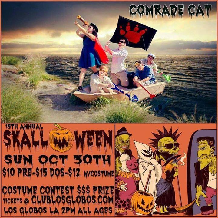 Comrade Cat Tour Dates