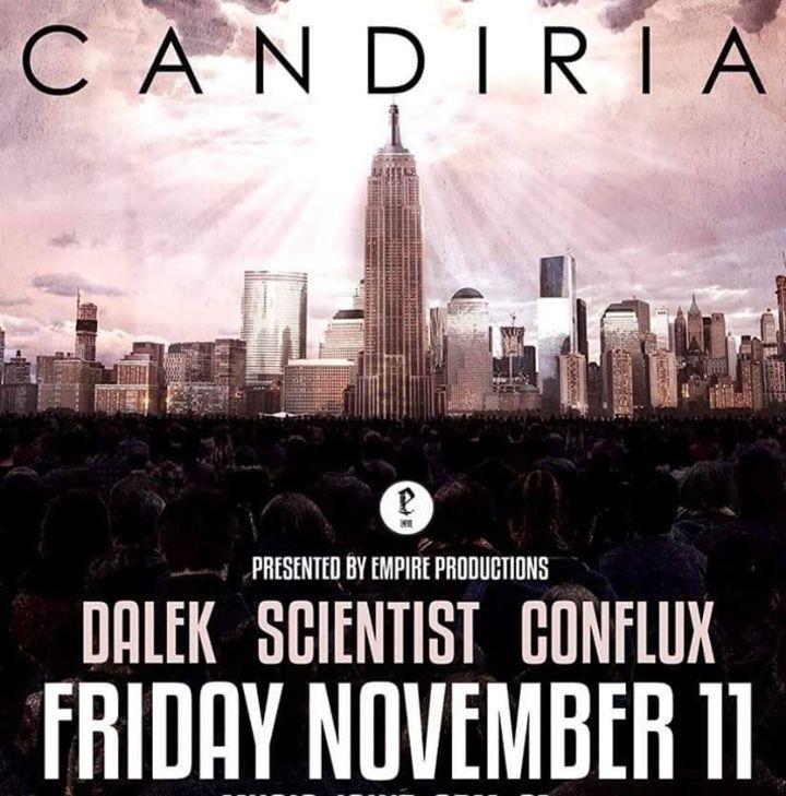 Scientist Tour Dates