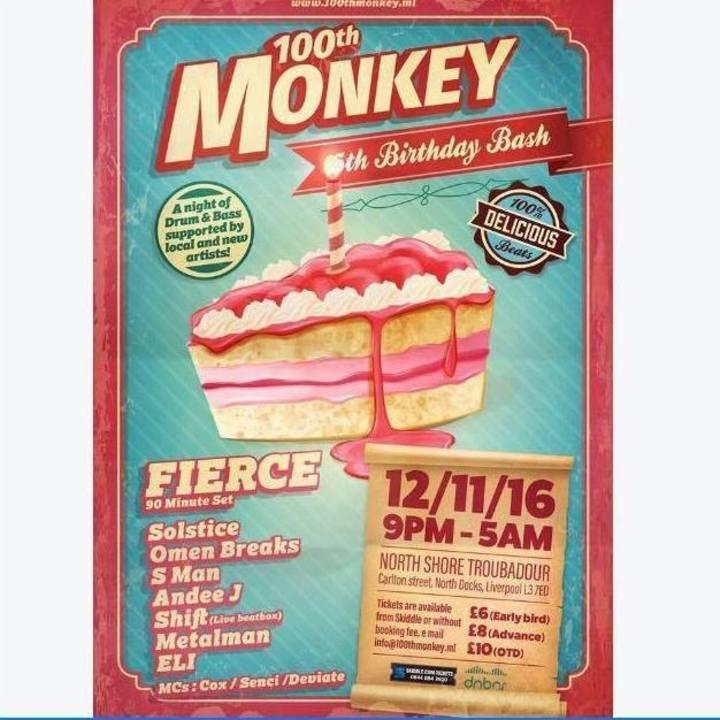 100th Monkey Tour Dates