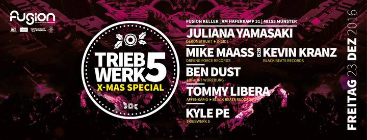 Tommy Libera @ Triebwerk 5 Club Fusion  - Munster, Germany