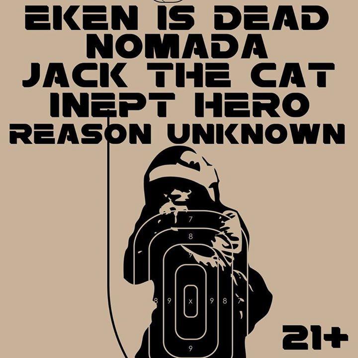 Eken Is Dead Tour Dates
