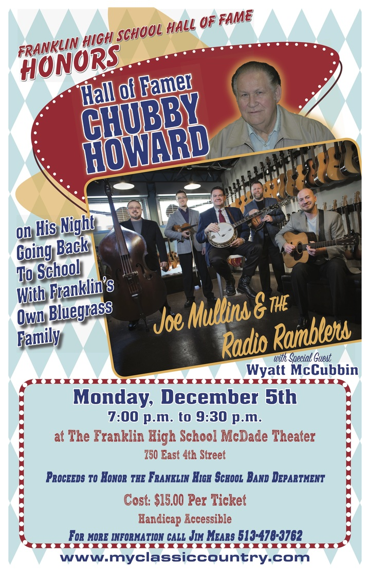Joe Mullins and The Radio Ramblers @ Franklin High School Auditorium - Franklin, OH