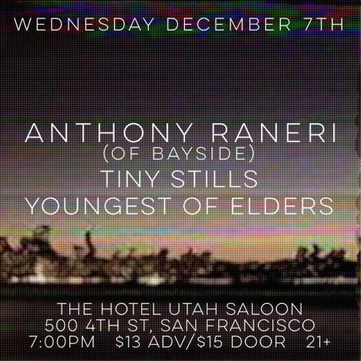 Youngest of Elders @ The Hotel Utah Saloon - San Francisco, CA