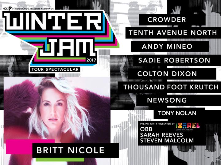 Britt Nicole @ Colonial Life Arena - Columbia, SC