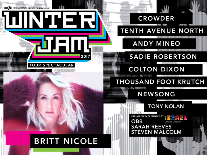 Britt Nicole @ Allen County War Memorial Coliseum - Fort Wayne, IN