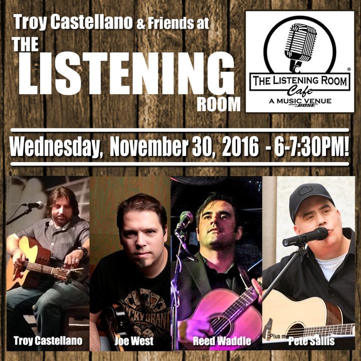 Troy Castellano @ The Listening Room - Nashville, TN