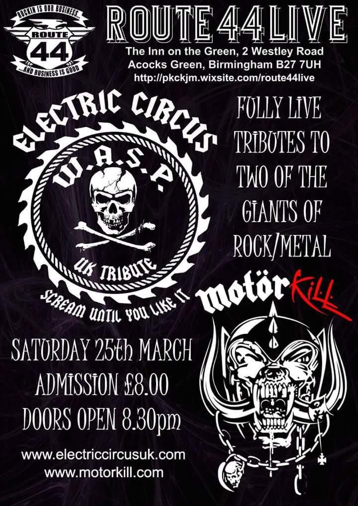 Electric Circus UK @ Route 44  - Birmingham, United Kingdom