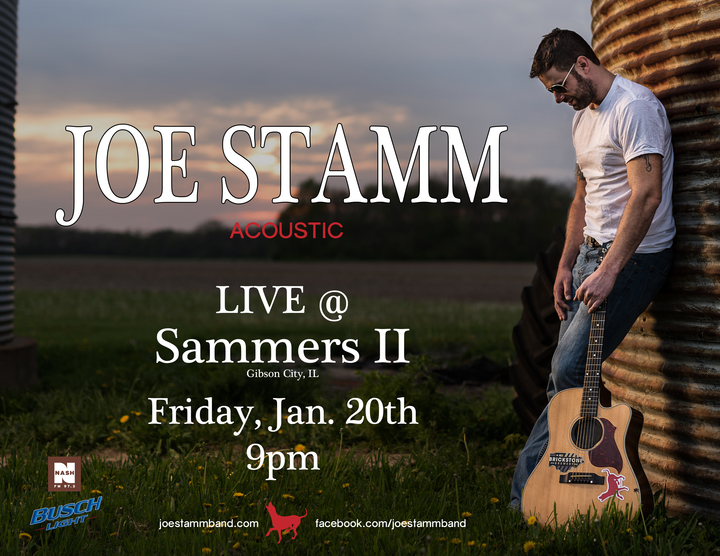 Joe Stamm Band @ Sammers II - Gibson City, IL