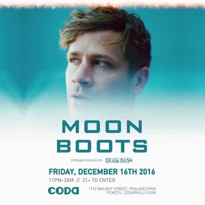 Moon Boots @ Coda - Philadelphia, PA
