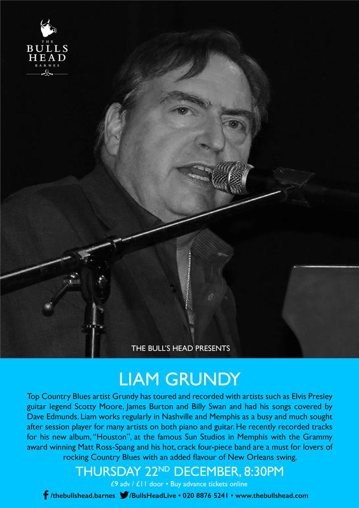 Liam Grundy @ The Bulls Head - Barnes, United Kingdom