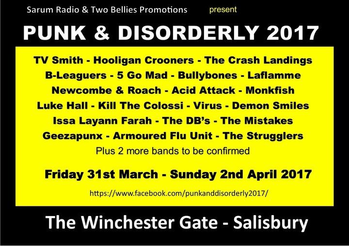 The Crash Landings @ Winchester Gate - Salisbury, United Kingdom