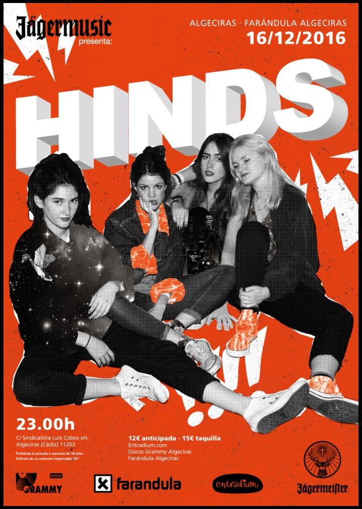 Hinds @ Farándula - Algeciras, Spain