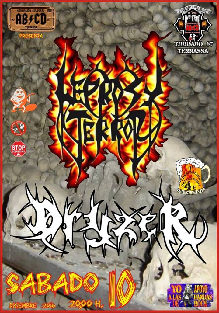 Leprosy Terror @ Infierno Musical - Terrassa, Spain