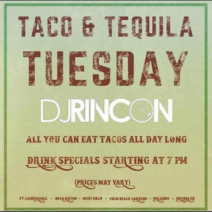 DJ RINCON @ Roccos Tacos - Orlando, FL