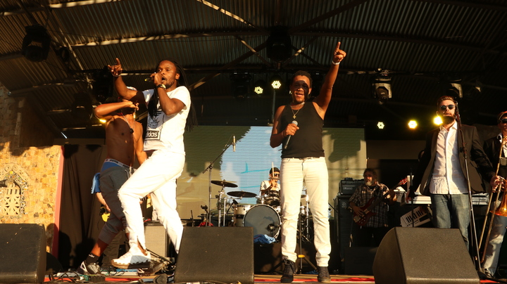 the rudimentals @ Green Point Cricket Club - Cape Town, South Africa