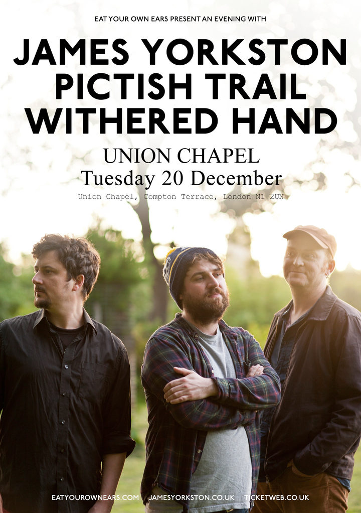 Pictish Trail @ Union Chapel - London, United Kingdom