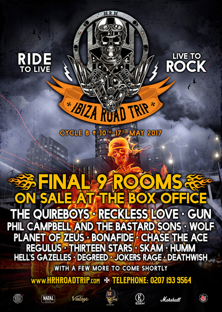 Phil Campbell's All Starr Band @ Hard Rock Hell Road Trip - Ibiza, Spain