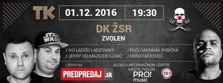 ProMusic.sk @ Dom kultúry ŽSR - Zvolen, Slovakia