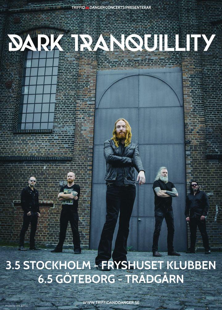Dark Tranquillity @ Fryshuset Klubben - Stockholm, Sweden
