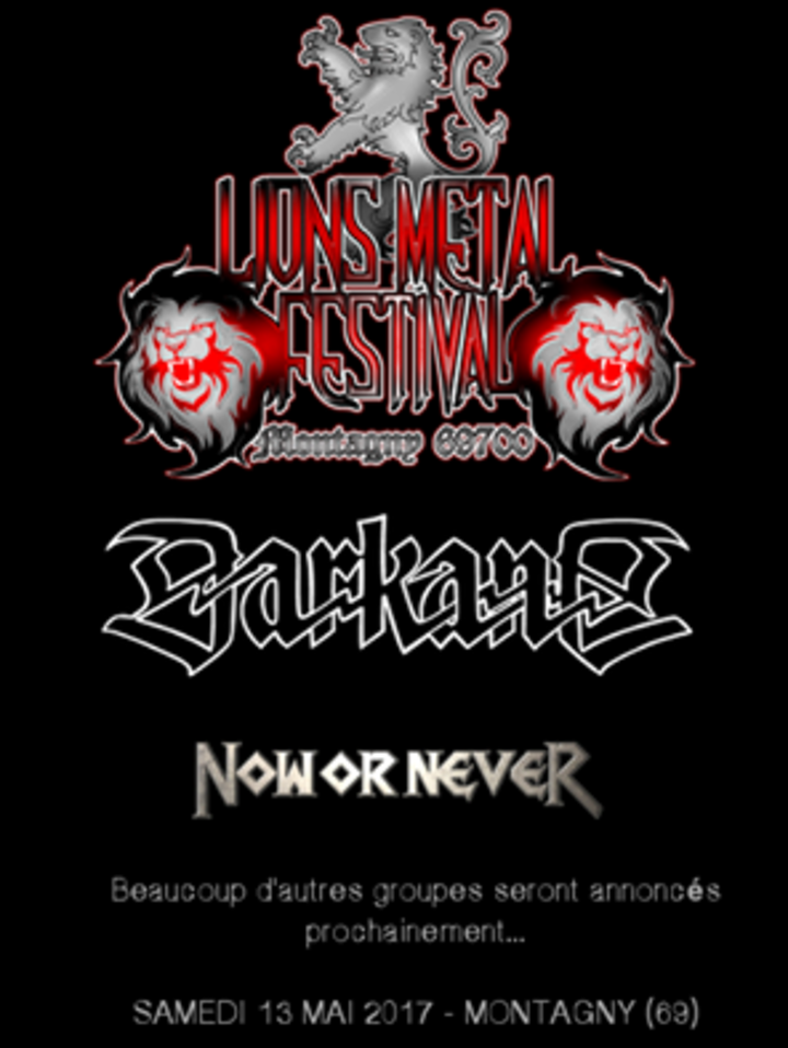 Now or Never @ LIONS METAL FESTIVAL - Givors, France