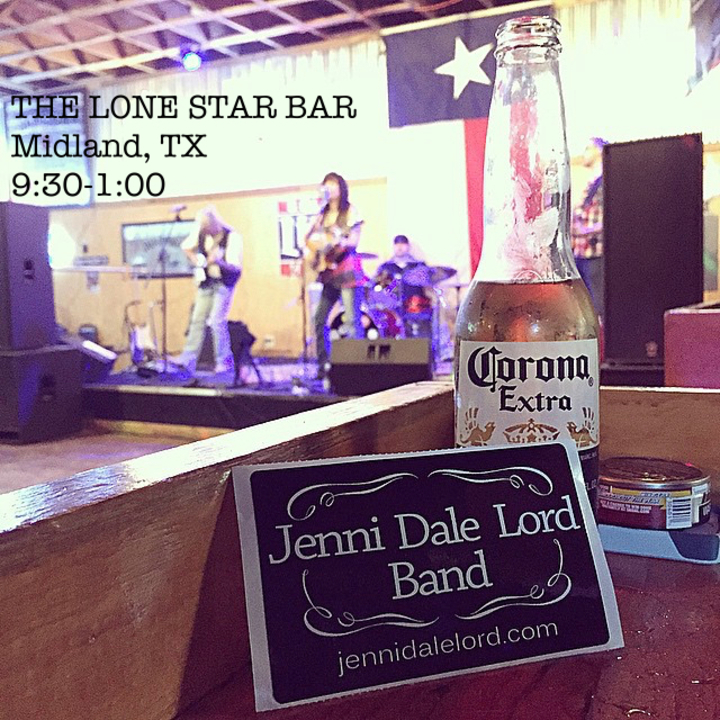 Jenni Dale Lord @ The Lone Star Bar - Midland, TX