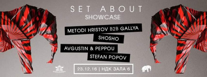 Avgustin @ Set About - Showcase Hall 6 - NDK  - Sofia, Bulgaria
