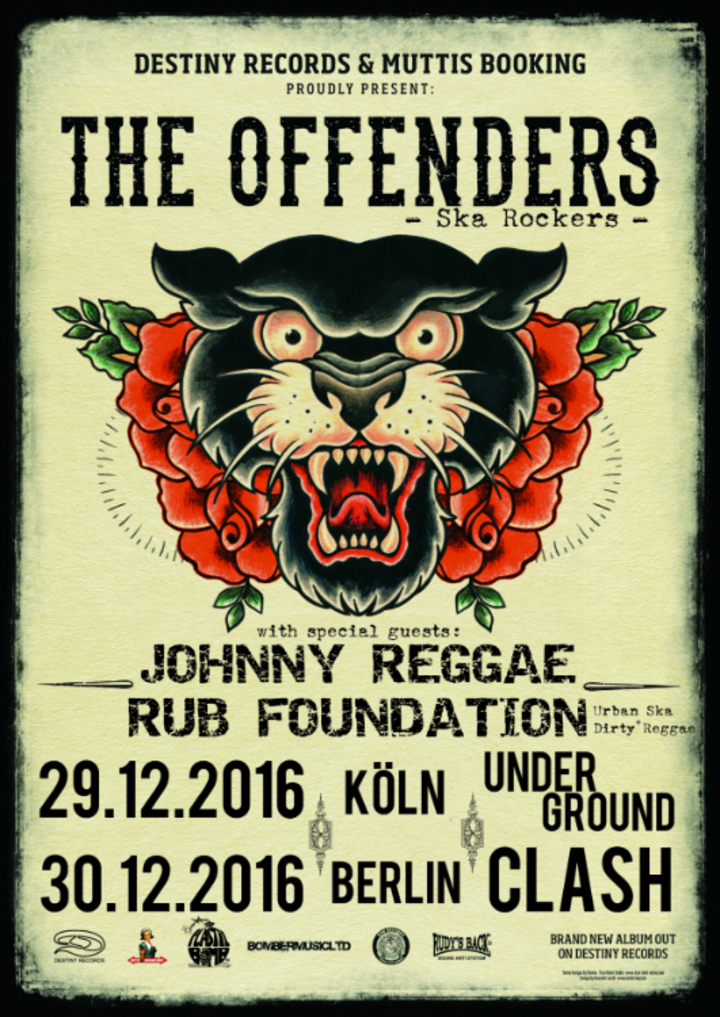 Johnny Reggae Rub Foundation @ Underground - Koln, Germany