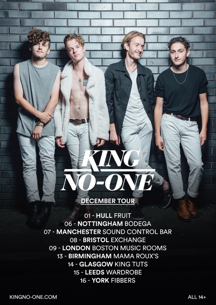 King No-One @ Boston Music Rooms  - London, United Kingdom