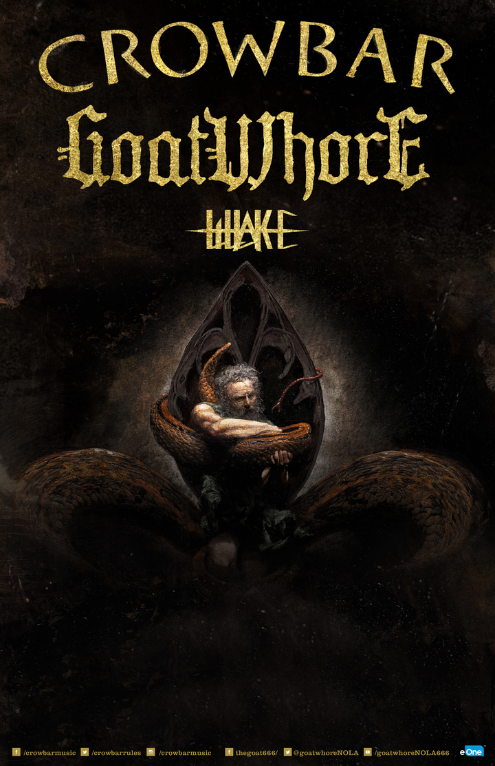 Goatwhore @ Revolution Music Room - Little Rock, AR