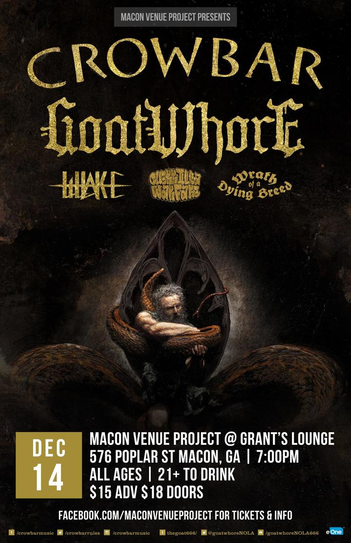 Goatwhore @ Macon Venue Project - Macon, GA
