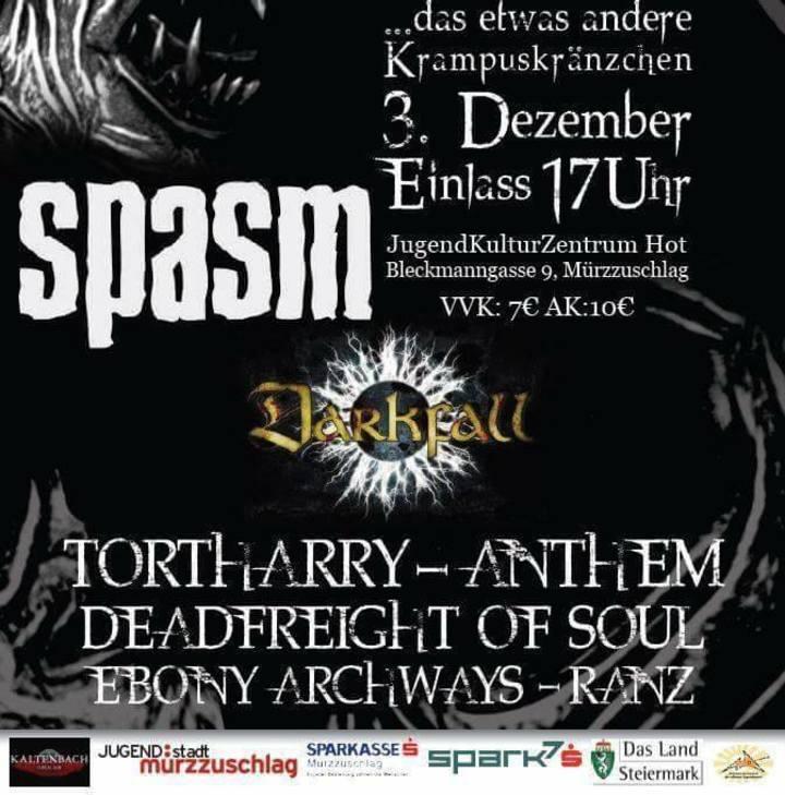 Deadfreight of Soul Tour Dates