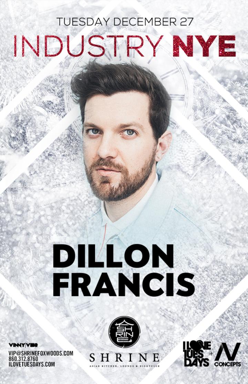 Dillon Francis @ Shrine - New London, CT