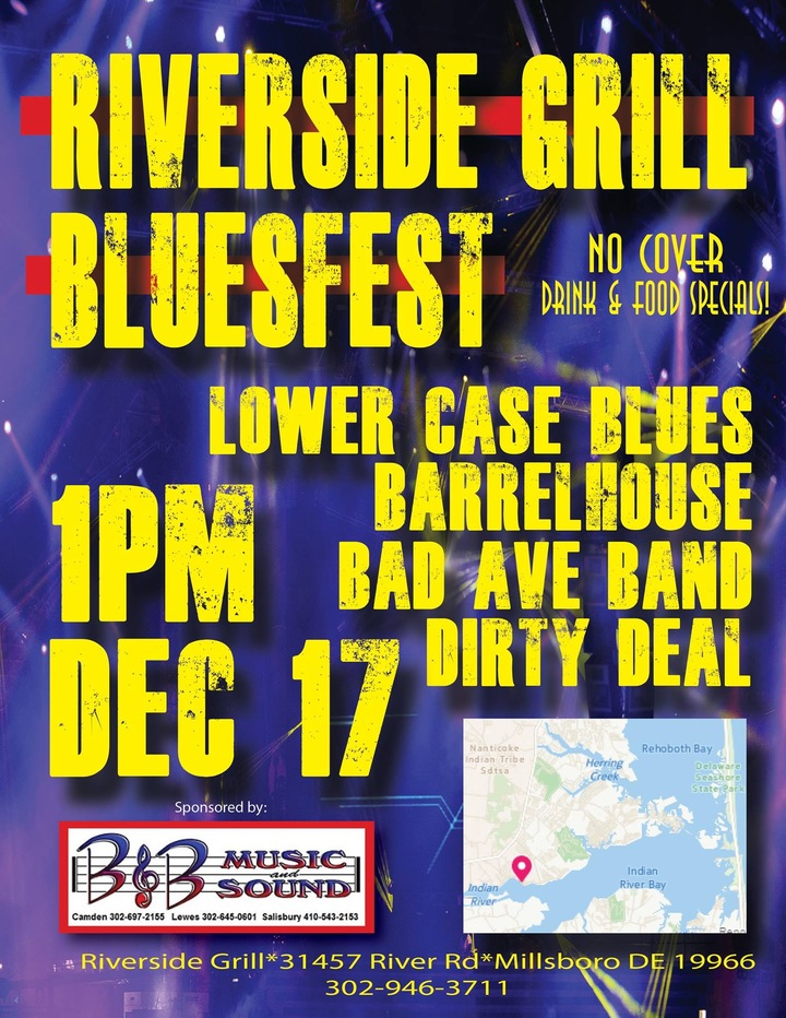 Bad Ave Band @ The Riverside Grill - Millsboro, DE