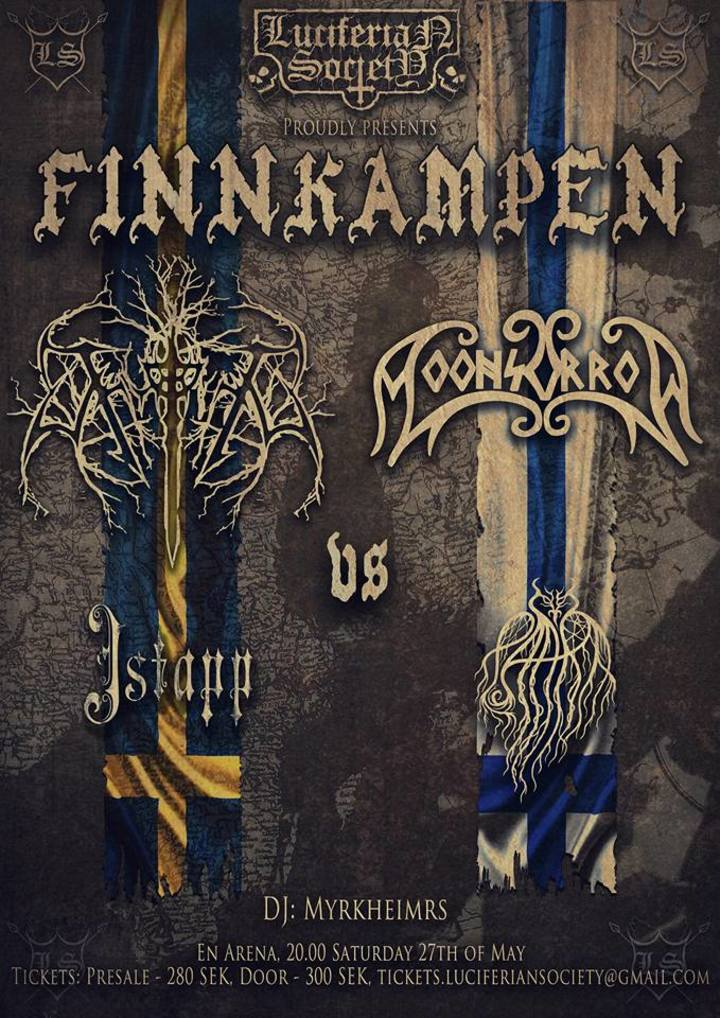 Thyrfing @ En Arena - Johanneshov, Sweden