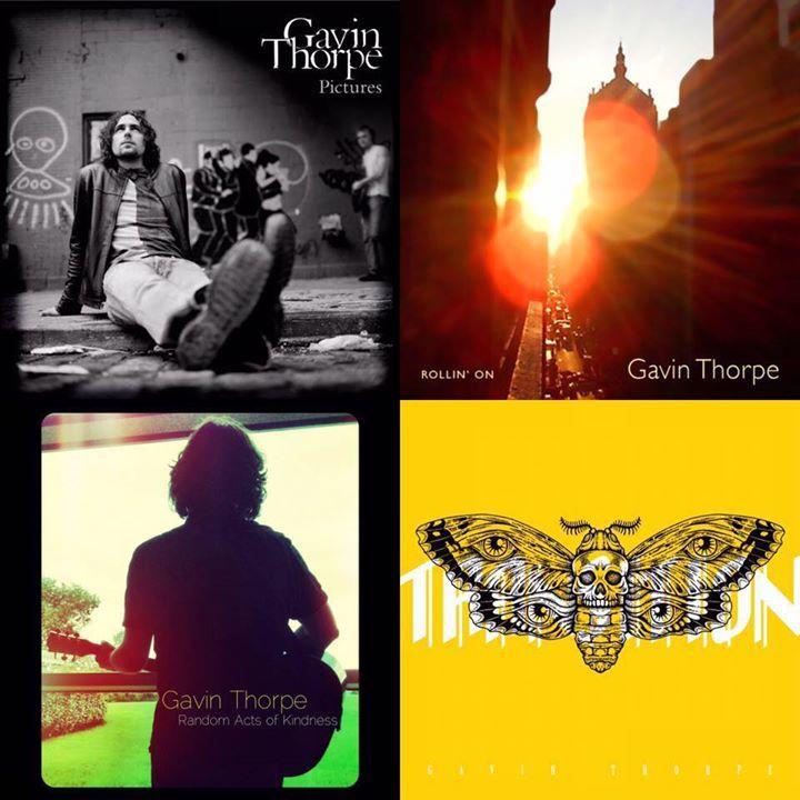 Gavin Thorpe Music Tour Dates