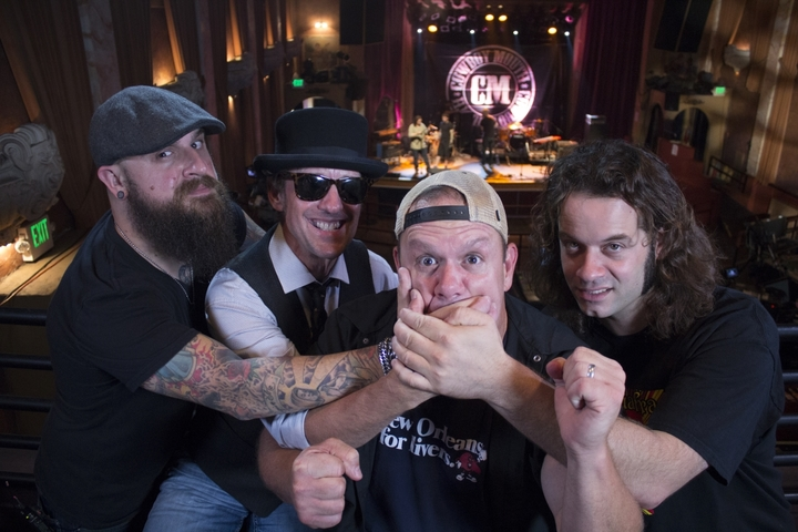 Cowboy Mouth @ Lafayette's Music Room - Memphis, TN