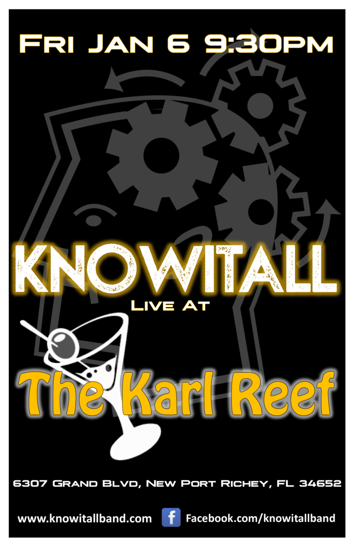 KnowItAll @ The Karl Reef - New Port Richey, FL
