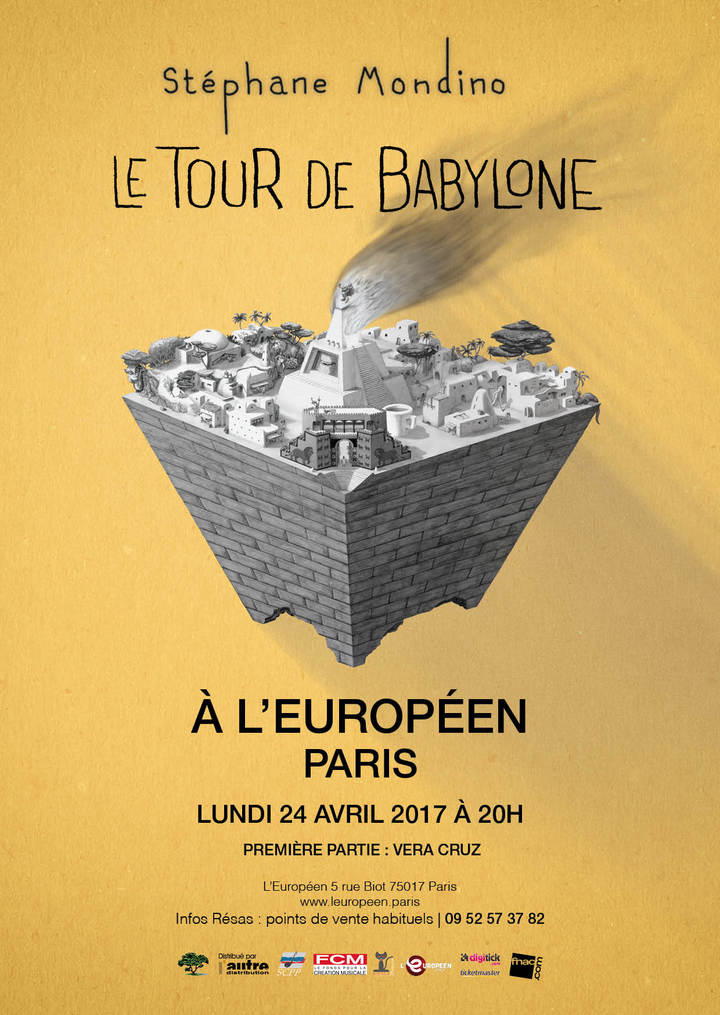 Stéphane Mondino @ L'Europeen - Paris, France