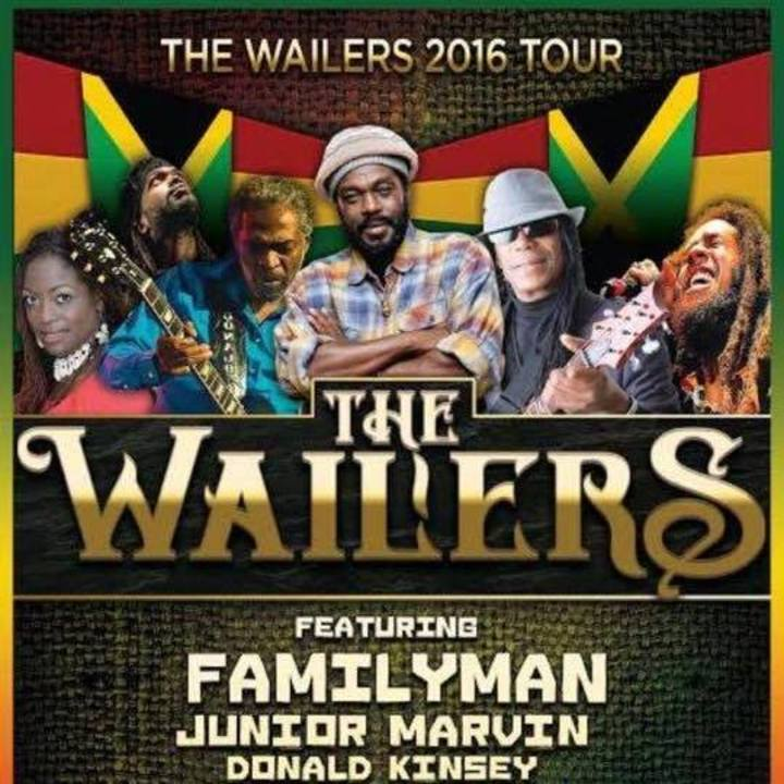 Junior Marvin's Wailers Tour Dates