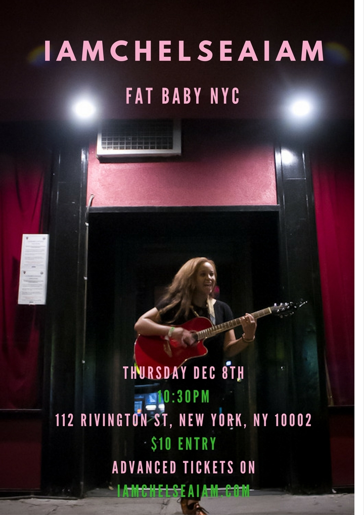 iamchelseaiam @ Fat Baby - New York, NY