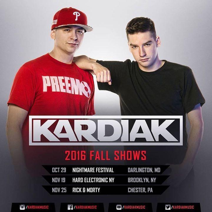Kardiak Tour Dates
