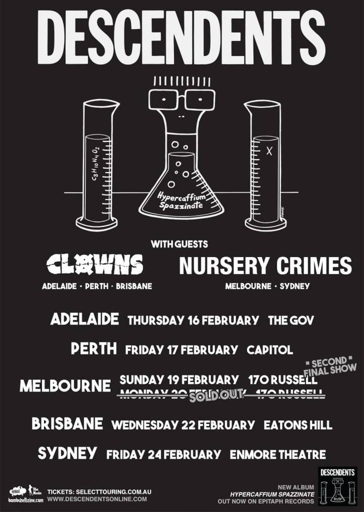 Select Touring @ The Gov - Adelaide, Australia
