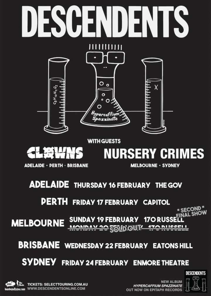 Select Touring @ Enmore Theatre! - Sydney, Australia
