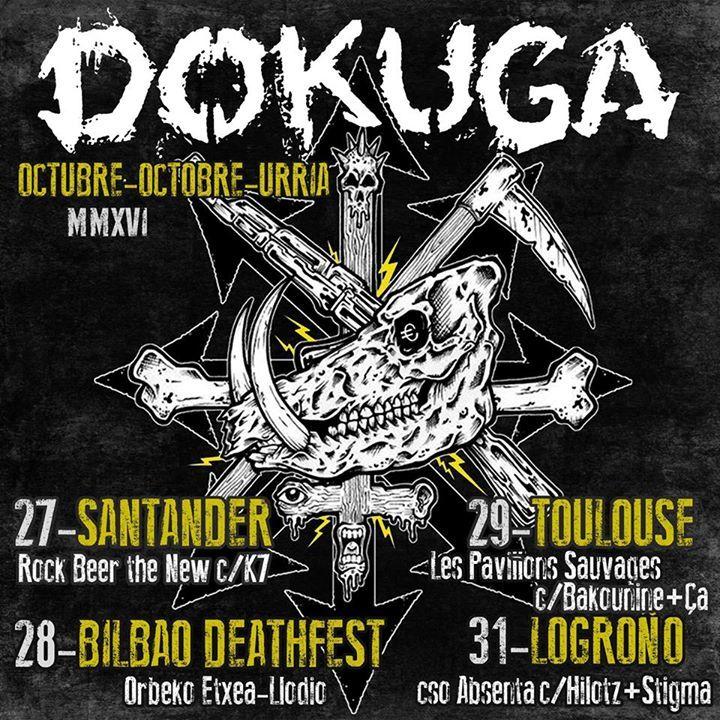 Dokuga Tour Dates