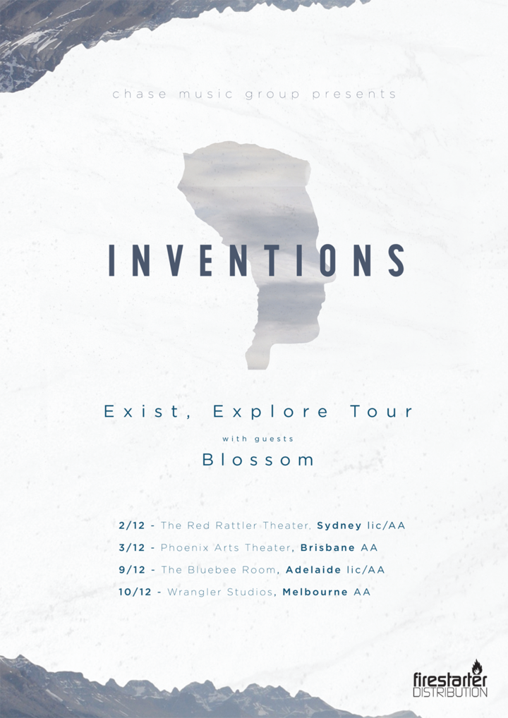 Inventions @ The Bluebee Room - Adelaide, Australia